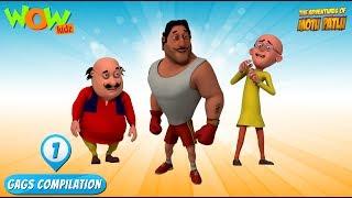 Motu Patlu - Funny Gags #1 - 1 hour episodes!