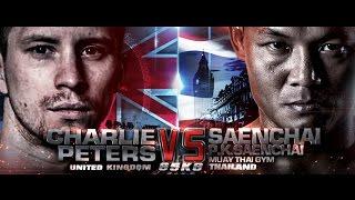THAI FIGHT LONDON 2016 September 11 Saenchai P.K.Saenchai Muaythai Gym VS Charlie Peters