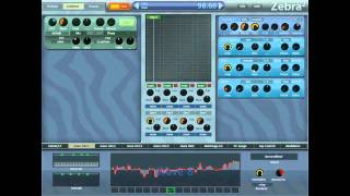 Zebra 2  - Making Dirty Bass Sounds (Dubstep, Electro House, Big Beat) from Scratch w/ zircon