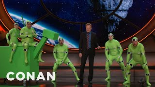 The Invasion Of The Pre-CGI Apes  - CONAN on TBS