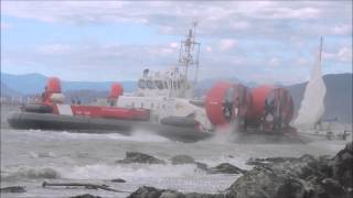 Canadian Coastguard Dramatic Rescue Of Sailboat In Burrard Inlet Sept 13, 2015.mp4