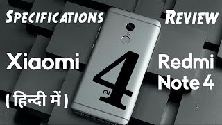 Xiaomi Redmi Note 4 Specifications And Review In Hindi