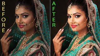 How To Manual Wedding Photograph Retouching in Adobe Photoshop