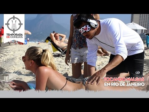 Grabbing some sweet butt cheeks in Rio de Janeiro TDConejos