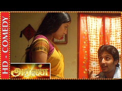 Jiiva teases Gopika before marriage | Aran Tamil Movie | Best Comedy Scenes | Kalaignar TV Movies