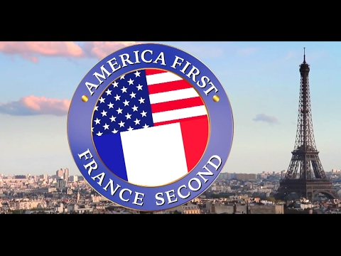 America first France second official
