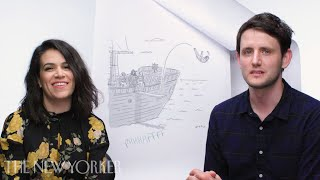Abbi Jacobson and Zach Woods Enter The New Yorker Caption Contest | The New Yorker