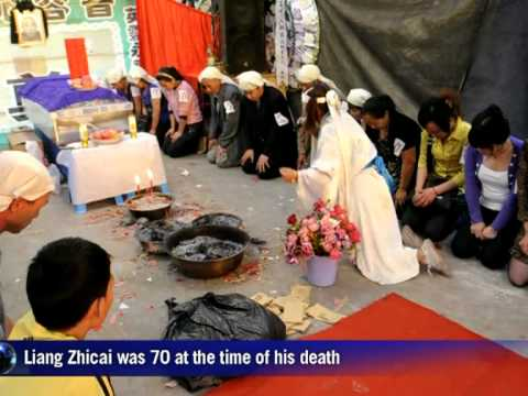In China professional mourners spice up funerals