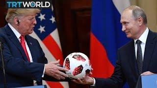 Donald Trump criticised over summit with Vladmir Putin in Helsinki