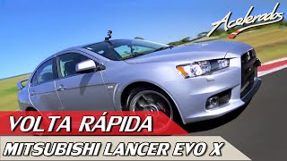MITSUBISHI LANCER EVO X - VOLTA RÁPIDA #2 COM RUBENS BARRICHELLO | ACELERADOS