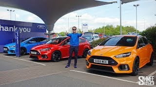 DOUBLE COLLECTION DAY! My New Focus RS Heritage and Red Editions