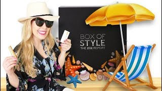 Box of Style Unboxing & Review | Summer 2017 | Beauty & Fashion