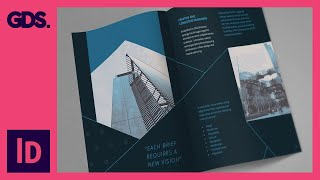 Add type to brochure in InDesign Ep11/15 [Multimedia design course - Print]