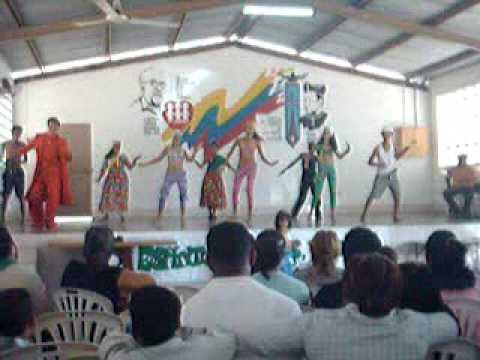 Coreografia CALIPSO Sirklan Bolívar en Fe y Alegria