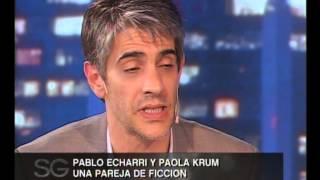 Pablo Echarri, Paola Krum y los rumores de romance - Susana Gimenez