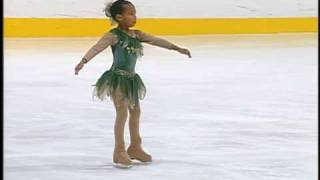 Starr age 7 ice skating