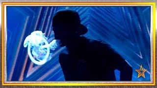 Su vapor de agua en forma de HUMO nos deja BOQUIABIERTOS   Audiciones 9   Got Talent España 2019