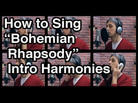 How to Sing Bohemian Rhapsody Harmony Queen Vocal Tutorial Lesson Intro