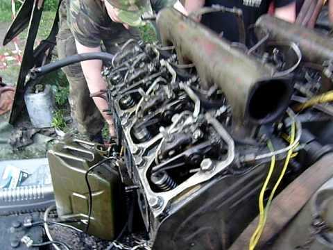 Silnik SKOT odpalanie.