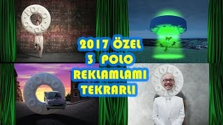 Polo Delikli Nane Şekilli Nane Polo Reklamı - Birleştirilmiş