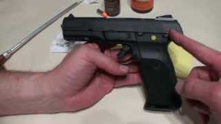 Ruger SR9 how to break down and clean it