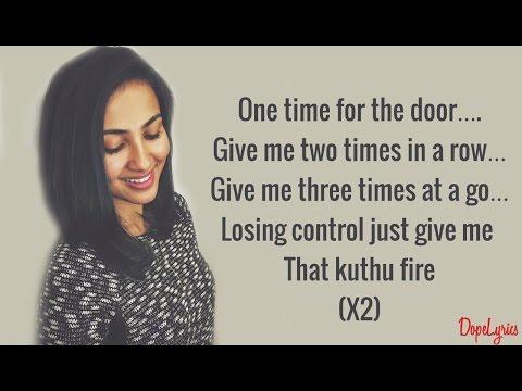Vidya Vox - Kuthu Fire | Original Single (Lyrics)
