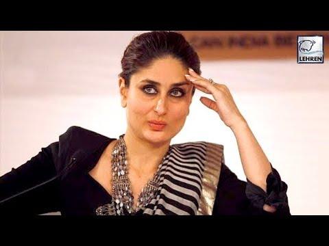 Kareena Kapoor Finally REACTS On Kangana's Nepotism Controversy | LehrenTV