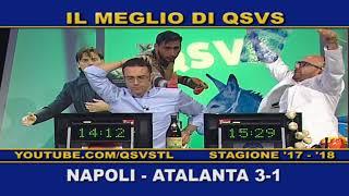 QSVS - I GOL DI NAPOLI - ATALANTA  3-1 TELELOMBARDIA / TOP CALCIO 24