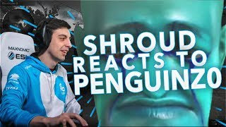 SHROUD REACTS TO: PENGUINZ0
