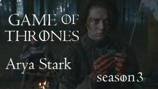 Arya Stark - season 3 (vostfr) (Game of Thrones)