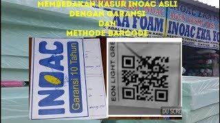 Kasur Inoac Asli - Inoac Palsu Metode Barcode QR Dan Garansi