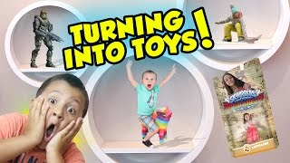 Sky Kids turning into SKYLANDERS TOYS!!?!? (Part 1 #3D Printing Adventure)