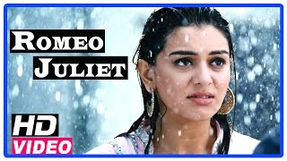 Romeo Juliet Tamil Movie   Scenes   Hansika came to know Jayam Ravi is a Gym coach