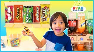 DIY Candy Dispenser and Coca Cola vending Machine