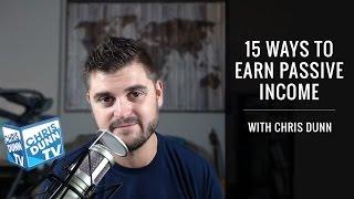 15 Ways To Make Passive Income
