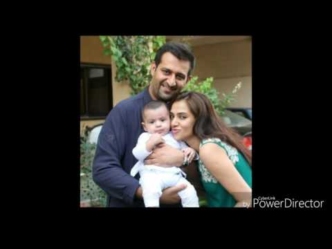 Tooba sadiquie with her husband and son