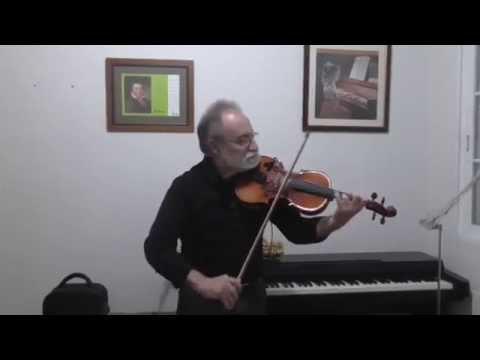 MOLIENDO CAFE. Cover. Joaquín al violín y saxo.
