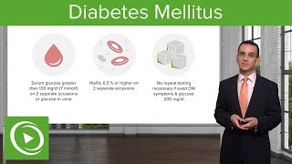 Diabetes Mellitus and Type 2 Diabetes: Diagnosis & Management – Family Medicine   Lecturio