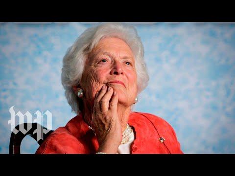 Xxx Mp4 Former First Lady Barbara Bush Dies At 92 3gp Sex