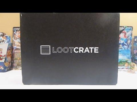 Opening November 2016 Loot Crate!!!!