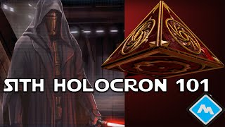 Star Wars - What is a Sith Holocron?