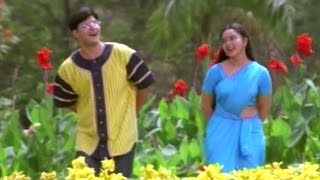 Raja Telugu Movie Songs - Mallela Vaana - Soundarya, Abbas