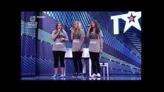Fčeličky COMBINATION česko slovensko ma talent