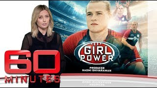 Should transgender athlete Hannah Mouncey be allowed to play in the AFLW?   60 Minutes Australia