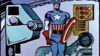 Captain America - The Return Of Captain America (1966) Original Cartoon Part 1
