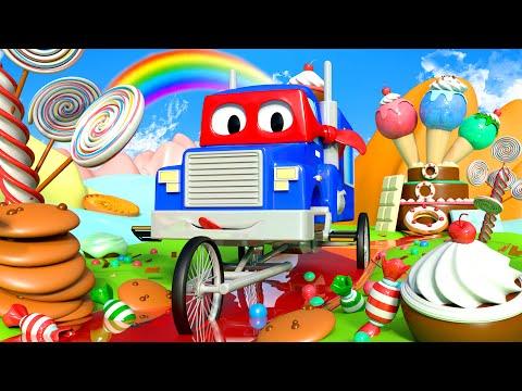 El Bici Camión ! con Carl el Super Camión en Auto City | Dibujos animados para niños