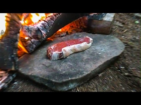 Cooking Meat for a Survival Situation 8 Rock Frying