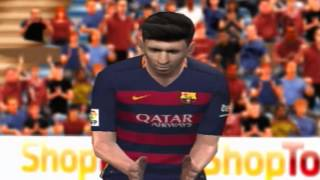FC BARCELONA vs REAL MADRID PES 2016 ps2
