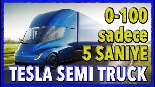 Tesla Semi Truck haber ve ilk tanıtım videosu