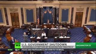 Celente: Govt shutdown theatrics, US lawmakers drama queens